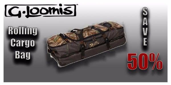 G. Loomis Rolling Cargo Bag