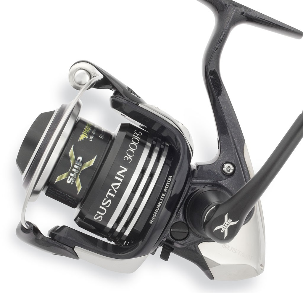 Shimano sustain 4000 fg spinning reel review american for American legacy fishing