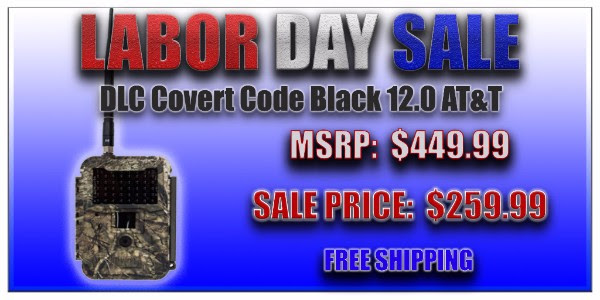 DLC COVERT CODE BLACK 12.0 AT&T WIRELESS 12MP CELLULAR TRAIL CAMERA DLC5144