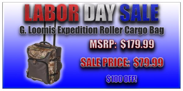 G. Loomis Expedition Roller Cargo Bag