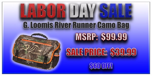 G. Loomis River Runner Camo Bag