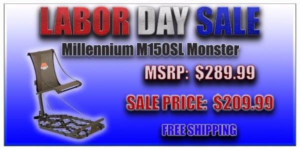 MILLENNIUM M150 MONSTER ALUMINUM TREESTAND