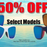 50% Off Select Costa Del Mar Sunglasses!  Prices As Low As $74.50!