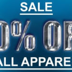 Flash Sale! 10% Off All Apparel! 48 Hours Only!