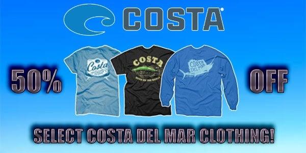 Costa Del Mar Clothing
