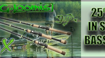 25% OFF In Stock E6X Bass Rods! Limited Time Offer!