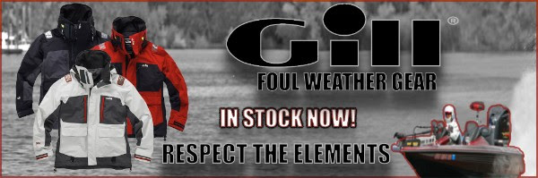 Gill Foul Weather Gear Available Now!