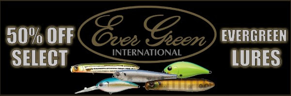 Evergreen Lures 50% OFF