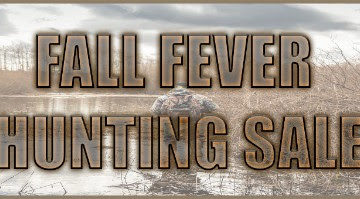 Fall Fever Hunting Sale