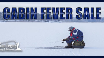 Cabin Fever Fishing Sale