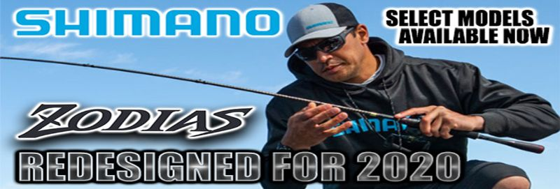 Shop Redesigned Shimano Zodias Rods - Select Models Available Now