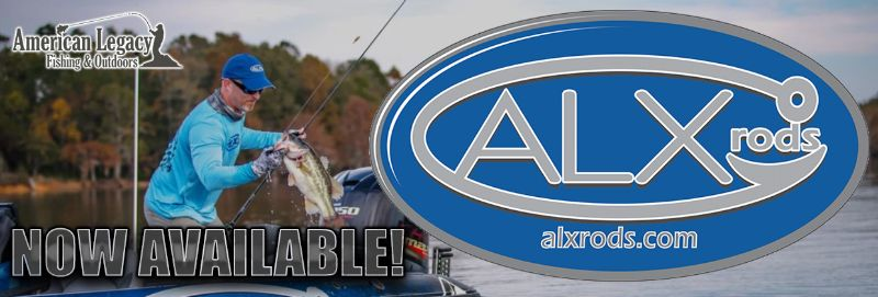 ALX Rods Now Available at American Legacy Fishing! Buy USA Made ALX Rods!