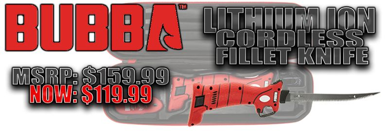 Bubba Lithium Ion Cordless Fillet Knife