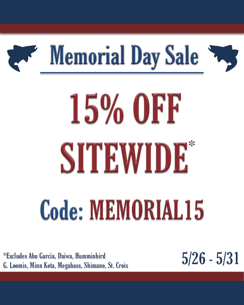 15% Off Sitewide with Code: MEMORIAL15
