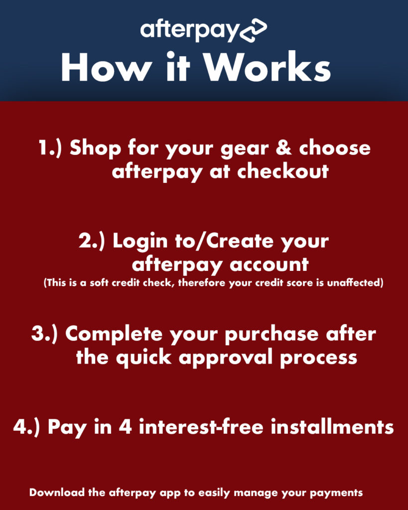 Afterpay How it Works American Legacy Fishing